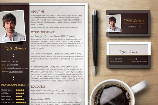 Creative Resume Set