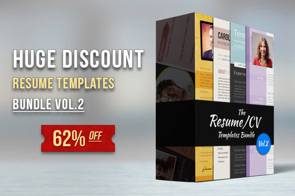 Discount Modern Resume Pack