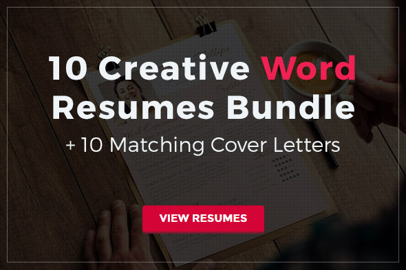CV Bundle for Microsoft Word